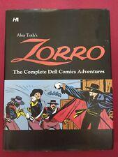 Alex Toth's Zorro: The Complete Dell Comics Adventures by Alex Toth Hardback