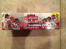 2015 Topps Baseball Complete Set All Star Game Exclusive Edition 5 Card Bonus