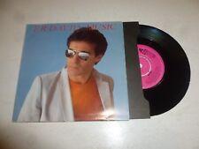 "F.R. DAVID - Music - 1982 UK 2-track 7"" Vinyl single (POSTER sleeve)"