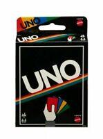 《NEW》Mattel Uno Card Game (Retro Edition) , Ages 7+