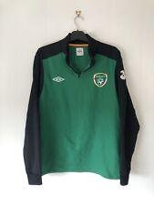 Ireland Football Training Fooball Jacket Pullover Quarter Zip XL Extra Large
