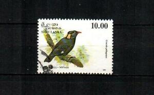 SRI LANKA Scott's 1082 Ceylon Hill-Mynah Bird F/VF used ( 1993 )