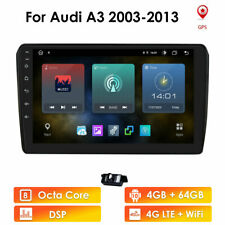 Car Radio Stereo For Audi A3 Android 10.0 GPS Navi MP5 Player Car Play BT 4+64GB