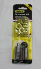 """General Tools 71262 Grommet Kit with 12 Grommets, 3/8"""" (10 mm) New"""
