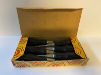 Vintage NOS Screwdrivers Crescent Box of 6; Flat Tip