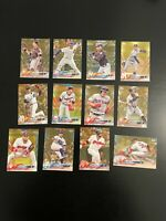 2018 Topps Gold 12 Card Lot w/ Super Stars Anthony Rizzo Buster Posey + More
