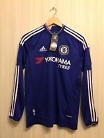 Kids Chelsea London 2015/16 Home Boys XL Adidas football jersey shirt soccer L/S