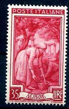 ITALIA 1950 - ITALIA AL LAVORO Lire 35  NUOVO **