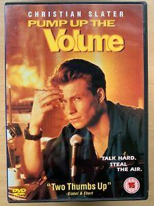 Pump up the Volume DVD 1990 Cult Teen Pirate Radio Classic w/ Christian Slater