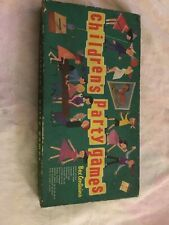 Vintage Whitman 1953 Children's Party Games