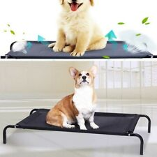 Portable Waterproof Elevated Pet Bed Dog Cot Camp Antislip Trampoline In/outdoor