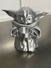 Star Wars Mandalorian CHROME COLOR The Child Baby Yoda 3D Printed Kit UNFINISHED