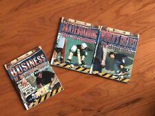 Lot 3 Super Skateboarding Hardcover Books 2009 First Edition