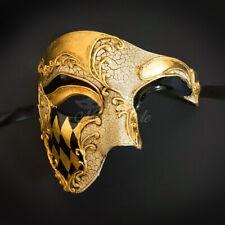 Bestsellers Men's Phantom Music Notes Venetian Masquerade Mask Gold Black