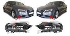 FOR AUDI A3 8V CABRIO / SEDAN 12-16 NEW FRONT BUMPER FOGLIGHT LAMP PAIR SET