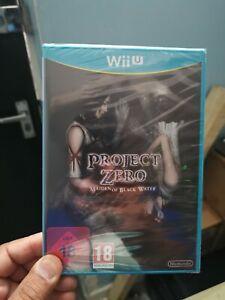 Brand new Sealed Project Zero Maiden of Blackwater Wii U