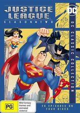 Justice League: Season 2 NEW R4 DVD