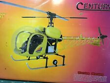 Vintage & Rare Century Bell 47 Rc Radio Controlled Helicopter Kit New Condition.