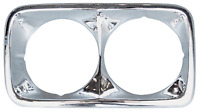 HEADLIGHT BEZELS PAIR 1969 1970 1971 1972 GMC TRUCK