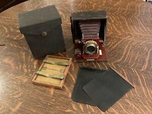 Antique Gundlach 4 X 5 Camera, Western Camera MFG CO Chicago