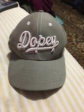 Walt Disney Dopey 3d Script Snap Back Hat - Clay Green