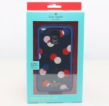 Kate Spade New York Trapping Dots External Battery Case Samsung Galaxy S5 NEW