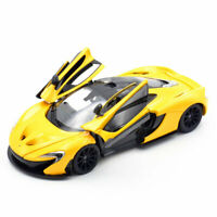 1:24 Mclaren P1 Sports Car Model Car Diecast Vehicle Gift Collection Boys Yellow