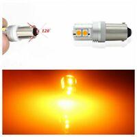 Canbus Error Free BAY9S H21W Car LED Bulb Turn Signal Corner light 10SMD Amber