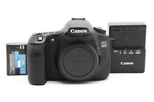 Excellent Canon EOS 60D DSLR Camera Body #33145