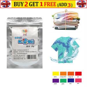 Cold Water Tie Dye Powder for Fashion DIY Fabric Textile Paints Vibra 25g