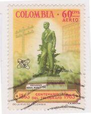 (COA-250) 1965 Colombia 60c air telegraph (AC)