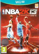 NBA 2K13 Nintendo Wii U 3+ Basketball Game