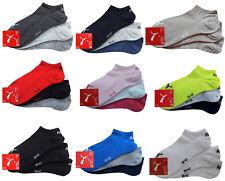 3 Paar PUMA Invisible Sneakersocken Füßlinge - Baumwoll Sneaker Socken