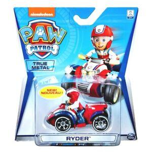 PAW PATROL RYDER 1st Series! Quad True Metal CAR Vehicle Spin Master RARE!! NEW