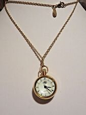 KIRKS FOLLY SEAVIEW MOON BALL NECKLACE WATCH NWOT