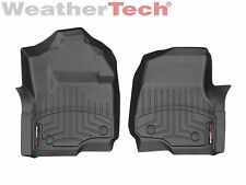 WeatherTech Floor Mats FloorLiner for Ford Super Duty 2017-2019 1st Row Black