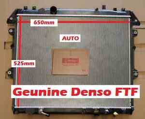 Radiator DENSO FTF For Hilux KUN26R KUN16R 3L DieseTurbo 4X4 4X2 SR SR5 Auto 05-