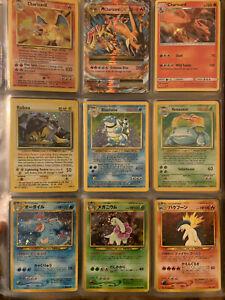 Pokémon binder collection lot 40 Holos Charizard, Blastoise, Venusaur WOTC
