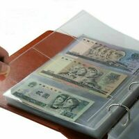 Banknotes Album Lighthouse Currency Collection Binder  Money w/ Vario Pages US