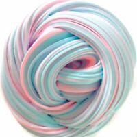 60ML Rose Blau Fluffy Fluff Floam Slime Schleim für Stressabbau Bunt Spielzeug