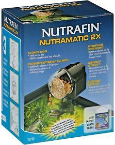 Nutrafin Nutramatic 2X Automatic Fish Aquarium Tank Feeder 10780 New