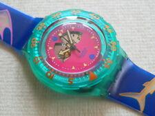 1991 Happy Fish Scuba 200 Swatch Watch USA release V1  SDN101V1