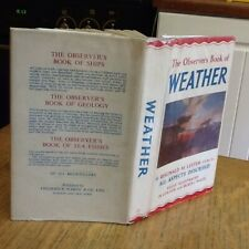 Observers Book Of Weather 1962