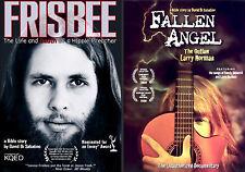 Fallen Angel / Frisbee DVD 2-pak (documentary) CCM Larry Norman Lonnie Frisbee