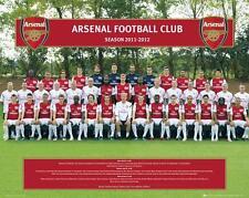 Arsenal Équipe photo 2011-2012 - Mini poster 40cm x 50cm (new & sealed)
