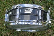 CLEAN Vintage LUDWIG Black Galaxy Acrolite Blacrolite SNARE 4 YOUR DRUM SET D808