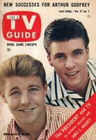 1958 TV Guide December 27 - David and Ricky Nelson; Patti Page; Esther Williams