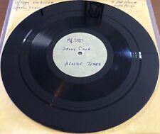"JOHNNY CASH Apache Tears RARE 10"" STUDIO ACETATE 1-SIDED DJ PROMO ARCHIVE COPY"