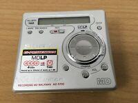 Sony Walkman MD MZ-R700 Recording Mini Disc Player - Unit only
