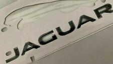 BLACK FOR JAGUAR NAMEPLATE rear Trunk Emblem Badge WORD LETTERS XF XJL XE XK XFR